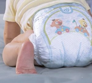 different types of pampers