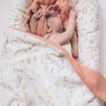 self binding baby blanket