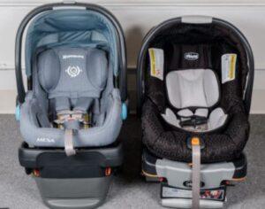 nuna vs uppababy car seat
