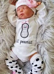 personalized newborn coming home outfit