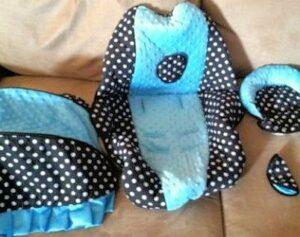 custom baby car seat covers