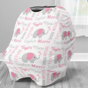 personalized baby boy car seat covers
