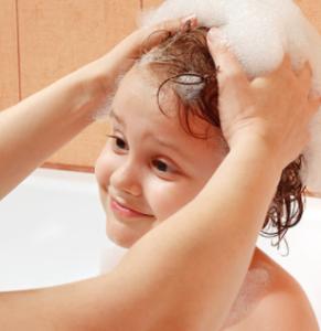 kids shampoo and conditioner